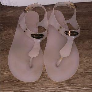 Lightly Worn Michael Kors Thong Sandals